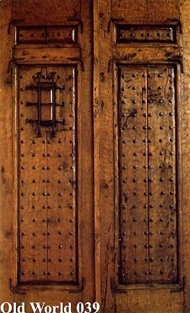 Old World Doors